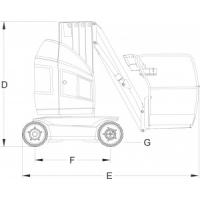 Вертикальные подъемники JLG T10 E