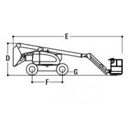 Самоходные коленчатые подъемники JLG 600AJ